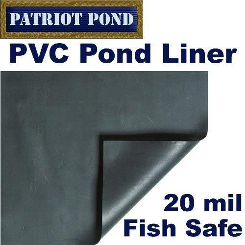 10'x 10' Patriot 20Mil PVC Teichfolie von Patriot - 20 Mil Pond Liner