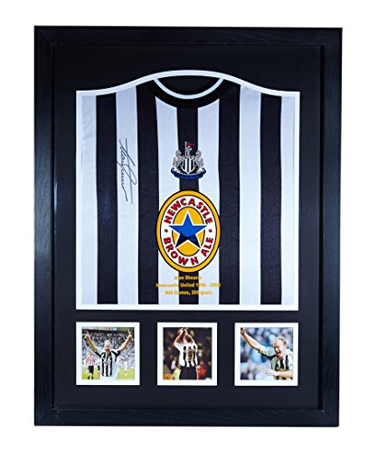 Alan-Shearer-signed-and-framed-Newcastle-United-career-stat-shirt-with-COA-and-proof-Professionally-framed-and-ready-to-hang