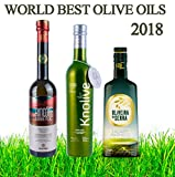 Best 3 Olivenöl in der Welt 2018; Rincon de la subbetica, Knolive, Oliveira da Serra