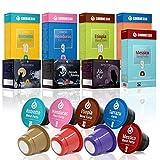 Capsule di caffè compatibili Nespresso ®* Gourmesso biologico & fairtrade