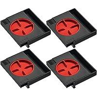 Bessey AV2, Distanciador, Color Rojo/Negro, 4 Unidades