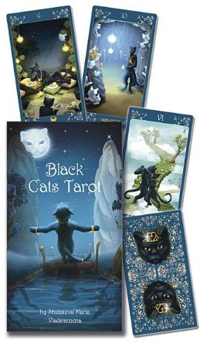 The Black Cats Tarot Deck - Cat Deck