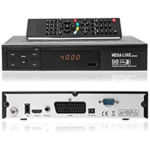 mega line hd 2000 hdtv digitaler satelliten receiver. Black Bedroom Furniture Sets. Home Design Ideas