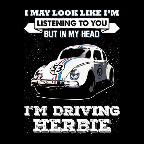 I May Look Like Herbie Women's Sweatshirt Black