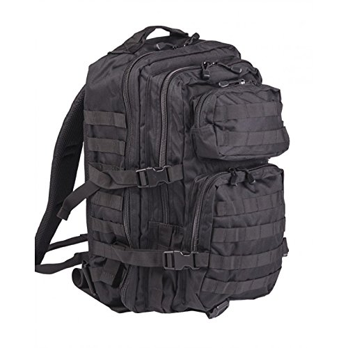 Imagen de pack de asalto molle táctico con  de patrulla 36l, negro