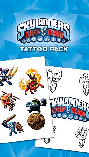 GB Eye LTD, Skylanders Trap Team, Mix, Set de Tatouages