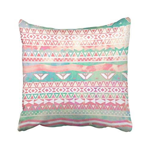 Musesh vacanza floreale cuscini cuscino lombare cuscino di copertura per divano home decorative pillowslip gift ideas household pillowcase zippered pillow covers 40,6x 40,6cm, cotone, multi 9, 16x16