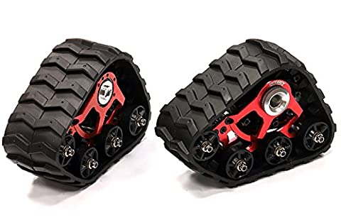 Integy RC Model Hop-ups T3546RED Snowmobile & Sandmobile Conversion for