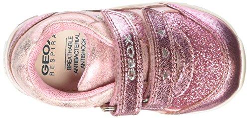 Geox Shaax A Baby Mädchen Sneaker Rosa (Pink)
