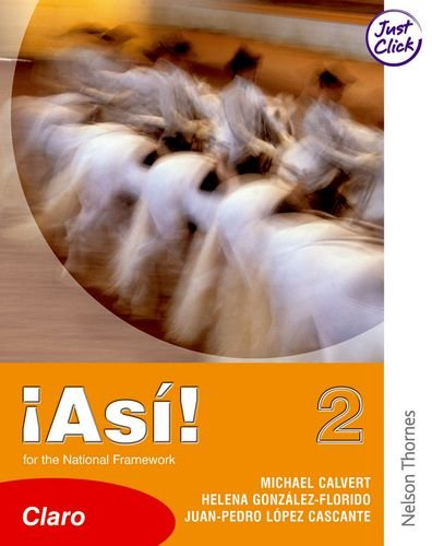 Asi 1 & 2 Evaluation Pack: !Así! 2 Claro Student Book Lower