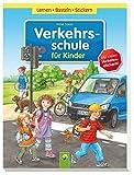 Verkehrsschule für Kinder: Lernen - Basteln - Stickern - Anne Scheller, Anne Suess