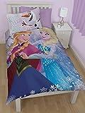 Character World Disney Frozen Wendebettwäsche mit Kissenbezug