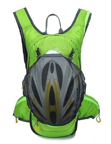 HWB/ 15 L Rucksack Camping & Wandern Draußen Kompakt Schwarz / andere Wasserdichtes Material / 210D - Nylon Green
