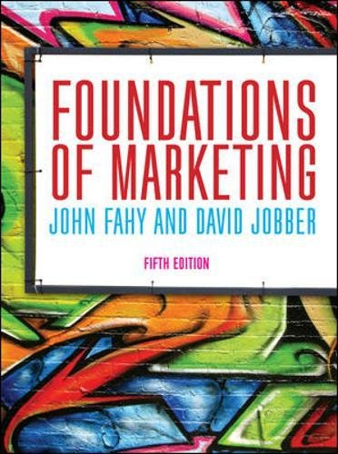 Foundations of Marketing (UK Higher Education Business Marketing) por David Jobber
