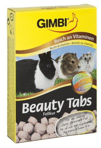 Gimbi Beauty Tabs, 2 Packungen (2 x 55 g) (Katzenfutter Frettchen)