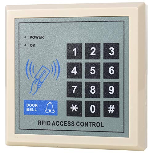 HWMATE Ständer Alone Access Control Tastatur RFID Proximity ID Card Reader 125 kHz 255 Benutzer für Tür-Sicherheitssystem - Proximity Card Reader