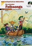 Spiel und Spaß mit der Altblockflöte: Die schönsten Folksongs (+CD) mit Bleistift -- 19 beliebte Melodien von GREENSLEVES bis KALIKA sehr leicht gesetzt für 1-2 Altblockflöten mit Text und Akkordsymbolen - (Noten/sheet music)