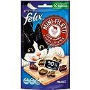 FELIX Mini-Filetti Katzen-Snacks, Leckerlis reich an Fleisch mit Vitaminen & Taurin, Menge: 7er Pack (7 x 40 g Beutel)