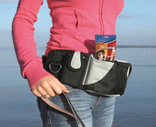 Artikelbild: Trixie 3237 Baggy Belt Hüftgurt 62-125 cm, schwarz / grau