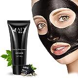 ROPALIA 60ml Saugen Schwarze Maske Tiefenreinigung Gesichtsmaske Mitesser Entfernen Gesichtsmaskel