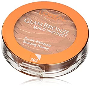 L'Oreal Glam Bronze Medium Walk on The Wild Side Instinct Bronzing Powder 7.5g Number 302