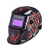 Giantree Casco de soldadura, 1625A TigerAuto Oscurecimiento Welding Casco Soldador Máscaras Protección UV Protección IR