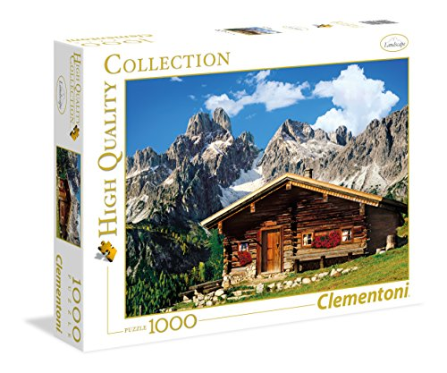 Clementoni 39297 - Austria the Mountain House Collezione Alta Qualità Puzzle, 1000...