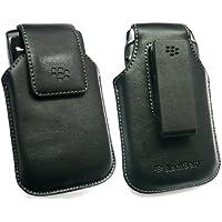 Geniune Blackberry Koskin Schwarz Leather Vertical Swivel Holster Mit Gürtel-Clip Für Blackberry 9800 Torch