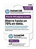 HP Instant Ink-Carte d'enregistrement, Blanc Blanc Blanc 300 páginas
