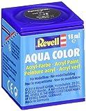 Revell 36178 Aqua Color - Pintura acrílica mate (18 ml), color gris acorazado RAL 7024
