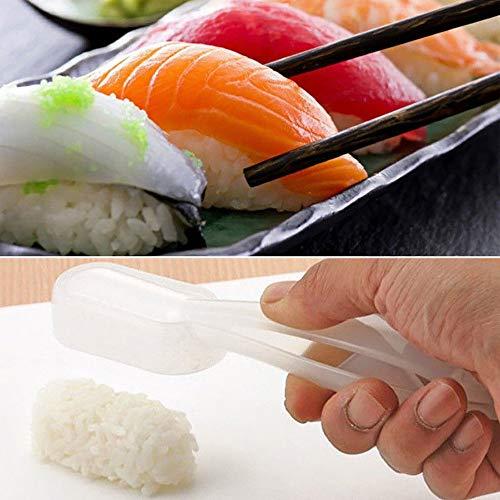 TianranRT Sushi Maker Schimmel Löffel Reis Schimmel Mit Griff Küche Werkzeug - Slicer Knoblauch-peeler
