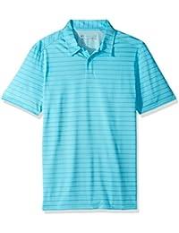 Oakley Men's Top Stripe Polo, Bright Cerulean, XXL