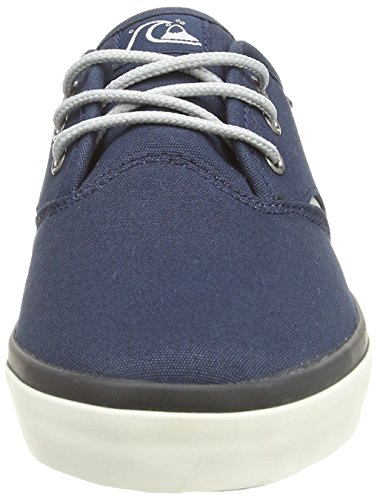 Quiksilver Shorebreak Youth, Baskets mode garçon Noir (Blue/Blue/White)