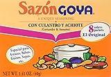 Goya Sazon Culantro y Achiote, 1.41-Ounce