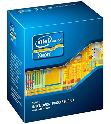 Intel Xeon 1150 E3-1220v3 Processore da 3.1 Ghz, Nero