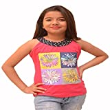 Titrit Pink camisole top for girls