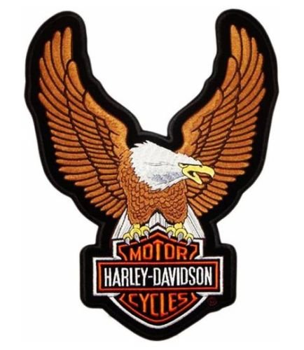 maxi-iron-on-applique-patch-large-xl-patch-american-eagle-eagle-24-x-34-cm-brown-harley-davidson-pro