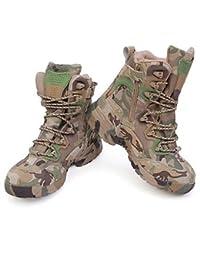 Deportes Aemember botas de combate desierto botas botas de alpinismo senderismo zapatos,Camuflaje,39