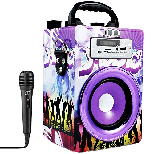Music Life Altavoz Bluetooth Karaoke microfono Altavoz