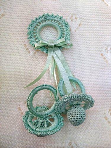 Chupetes decorativo crochet
