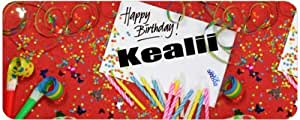 Personalised Printed Coffee MUG - Happy Birthday Kealii