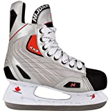 Patins pour patinage pour hockey sur glace taille 44 Polyester 3385 ZZR 44.