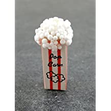 New Dolls House Miniature Sweet Shop Fairground Accessory Box of Popcorn 5135