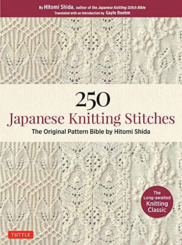 250 japanese knitting stitches par Hitomi Shida