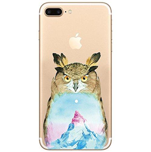 Cover iPhone 6Plus iPhone 6sPlus, Sportfun morbido protettiva TPU Custodia Case in silicone per iPhone 6Plus iPhone 6sPlus (08) 04