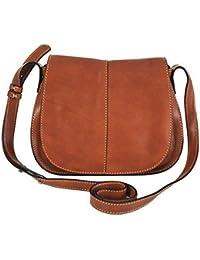 GIANNI CONTI fine marrone Italiana S tracolla in pelle borsa a tracolla  913741 f0907a50421