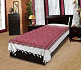 Adithya Warli Handlook Red Single Bed Sh...