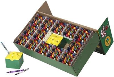 Crayola - 52-8019.0030 - Education - Classpack De 832 Crayons À La Cire (1 Taille-crayon Inclus)