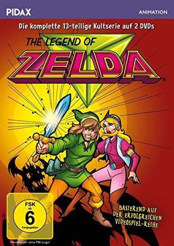 Preisvergleich Produktbild The Legend of Zelda / Die komplette 13-teilige Kultserie (Pidax Animation) [2 DVDs]