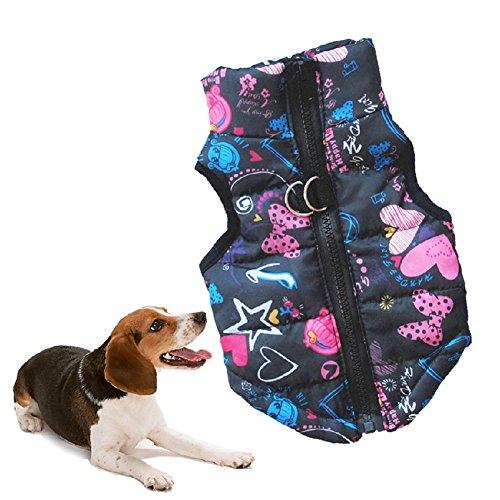 huuation Pet Hund Kleidung Haustier Hund Katze Puppy Coat Kostüme Kleidung für kleine Hunde/Welpen/Teddy Pudel Pet (Kostüme Verspielt Welpen)